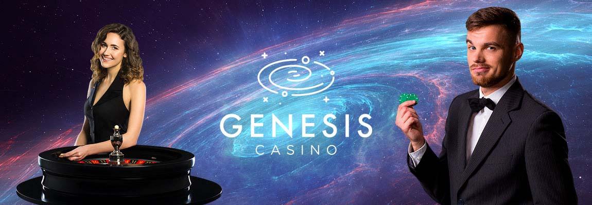 Genesis live casino section