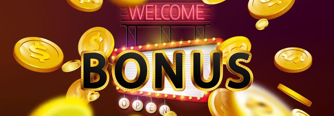 Get your welcome bonus now