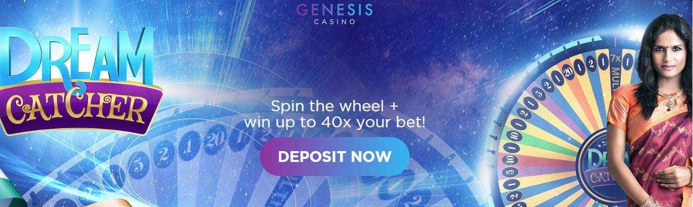 Genesis casino deposits