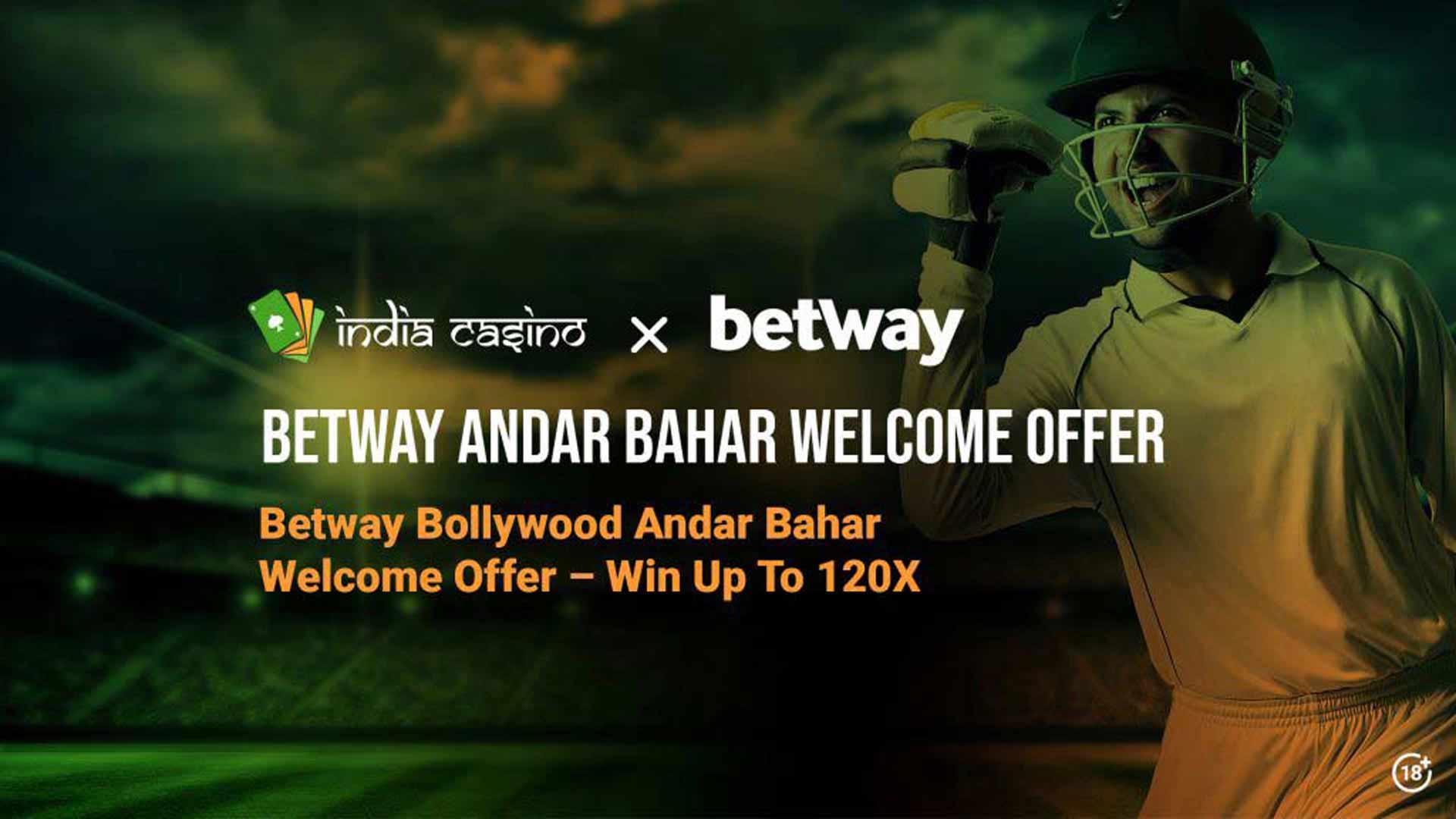 betway andar bahar welcome offer