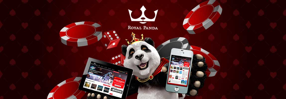 Try the Royal Panda app and play your favorite games